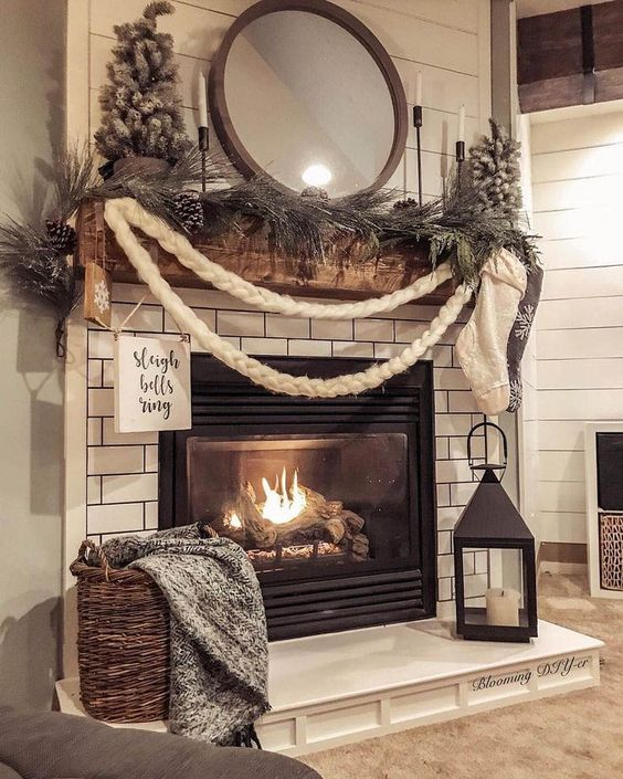 Rustic Christmas Decorating Ideas.Glam Vapours