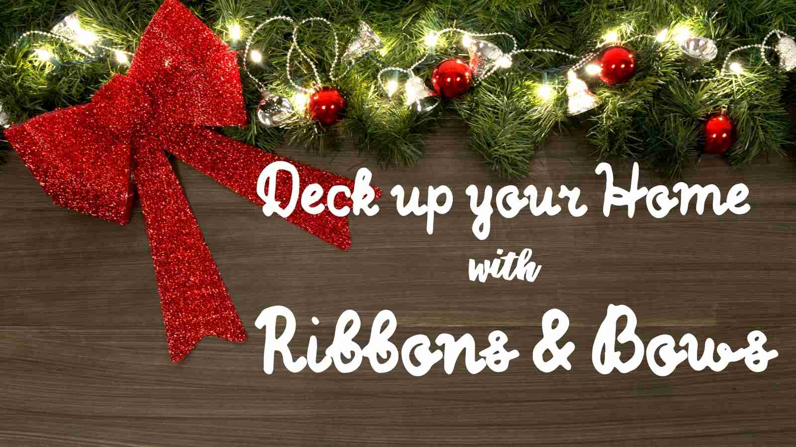 Decorating Christmas Tree With Ribbons And Bows These Ideas Might Be Just What You Need Glam Vapours